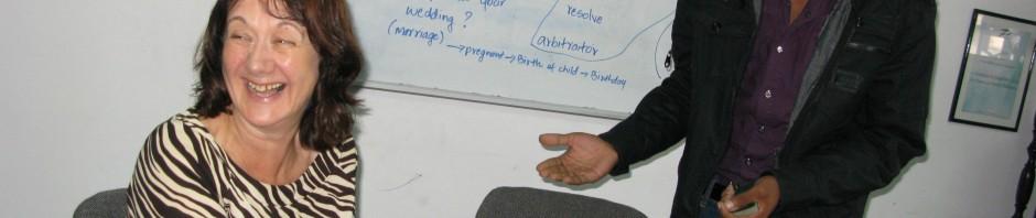 Teaching English as a volunteer