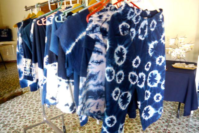 indigo clothes