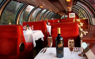 Romancing the Napa Valley Wine Train