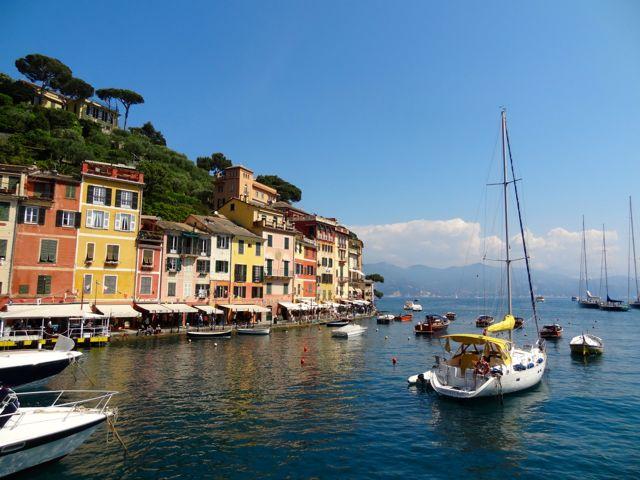ferry into portofino