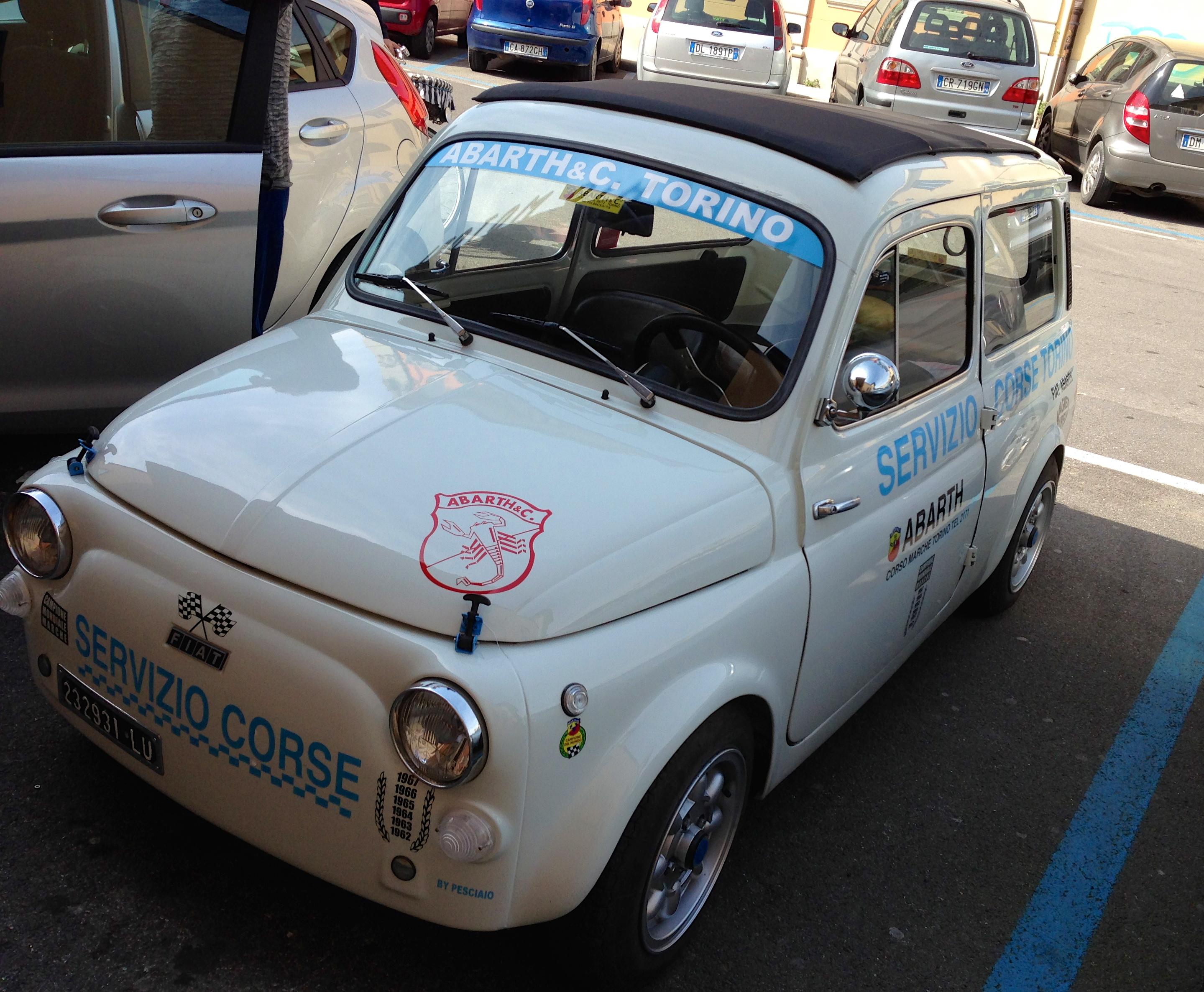 car in Italy