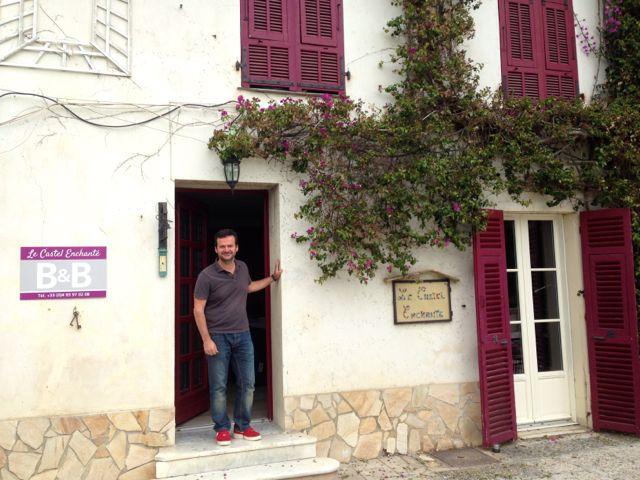 Alberto at castel enchante Nice