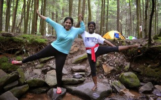Into the wild : Yogi who camped and hiked