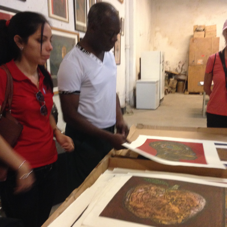 Impressions of Cuban Artists