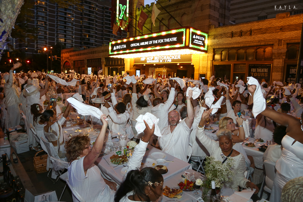 Le Diner en Blanc brings Paris to Atlanta