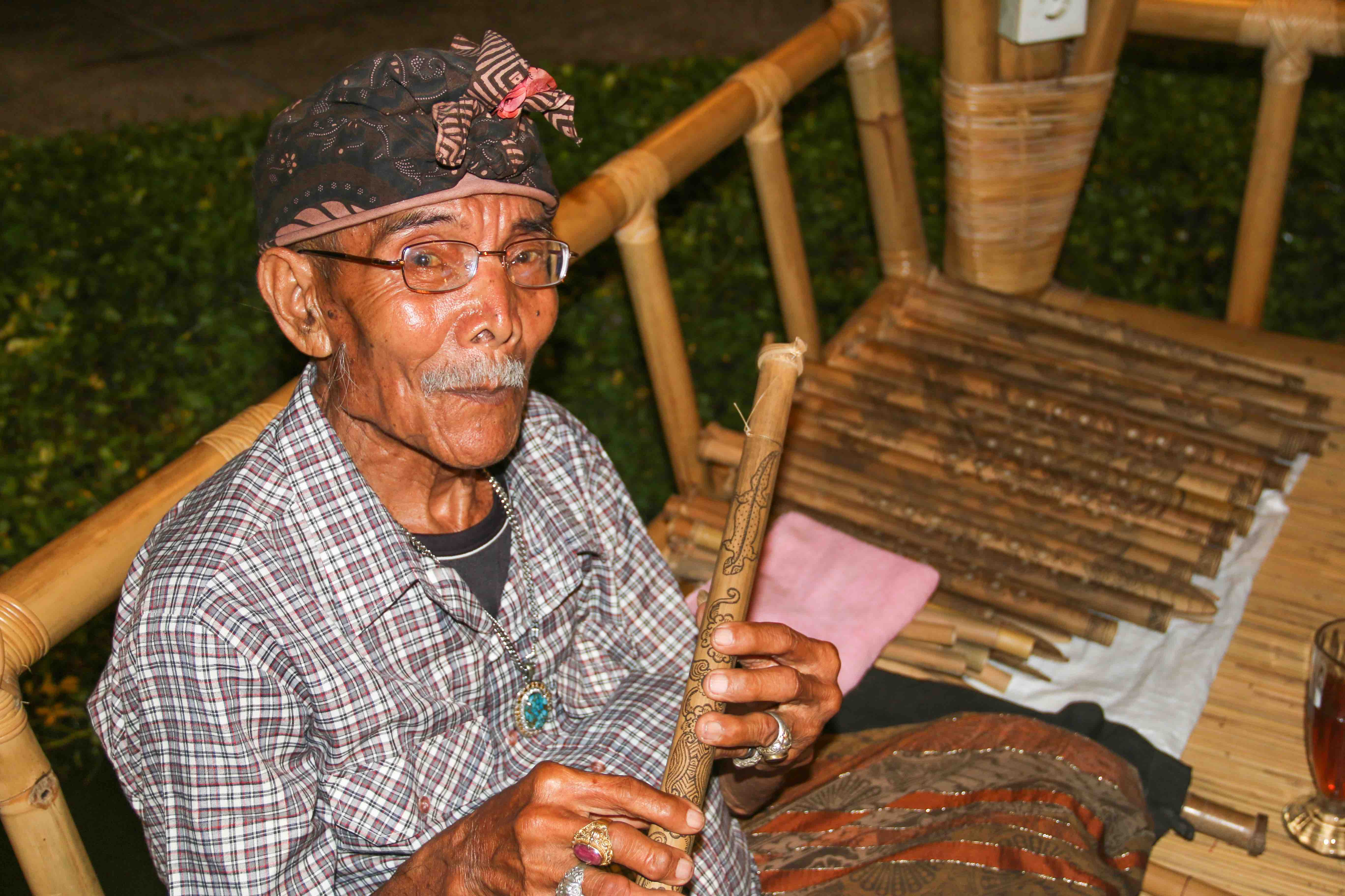 The 100-year Old Flute Maker in Bali