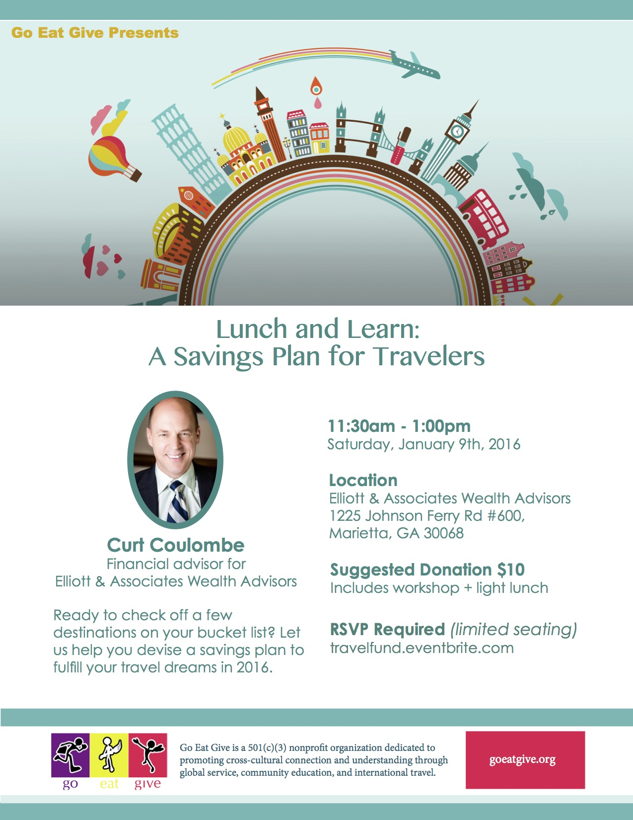Lunch and Learn: A Savings Plan for Travelers
