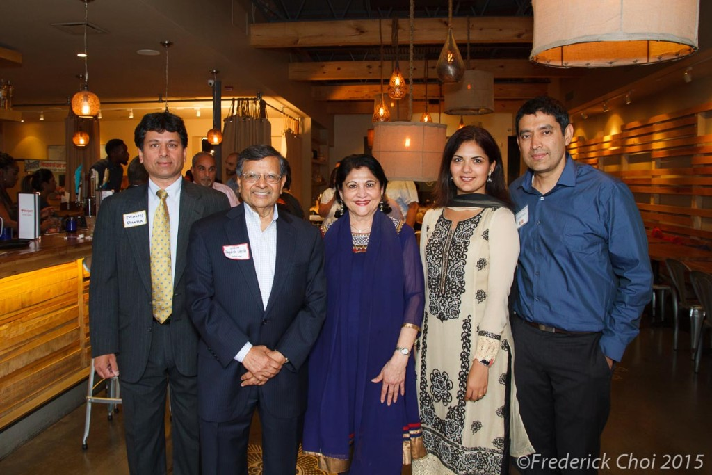 Destination India at Bhojanic Atlanta. Sponsored by Air India. Keynote Dr Jagadish Sheth of Emory University.