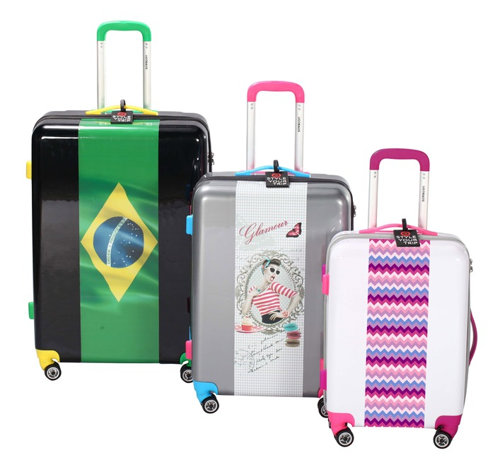 Customized Lightweight Luggage That You Can't Lose
