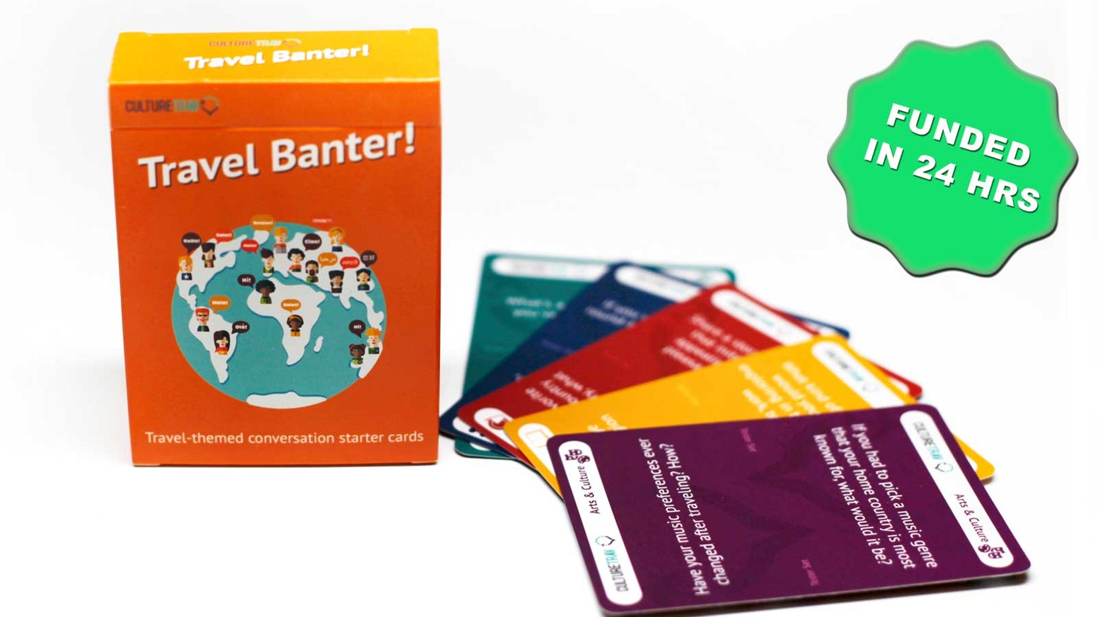 Love Travel? Get This New Conversation Starter Card Game