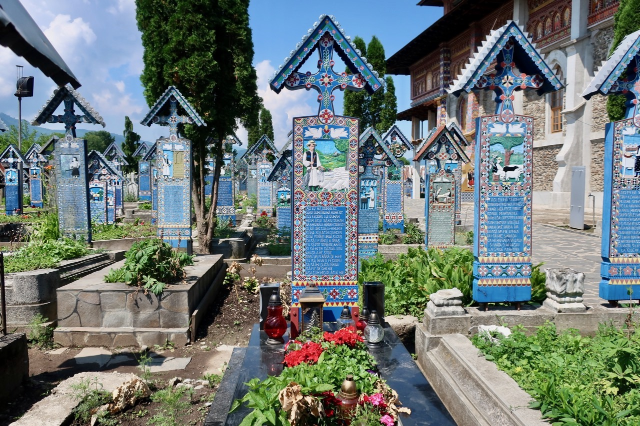 Have a Laugh At The Merry Cemetery in Romania