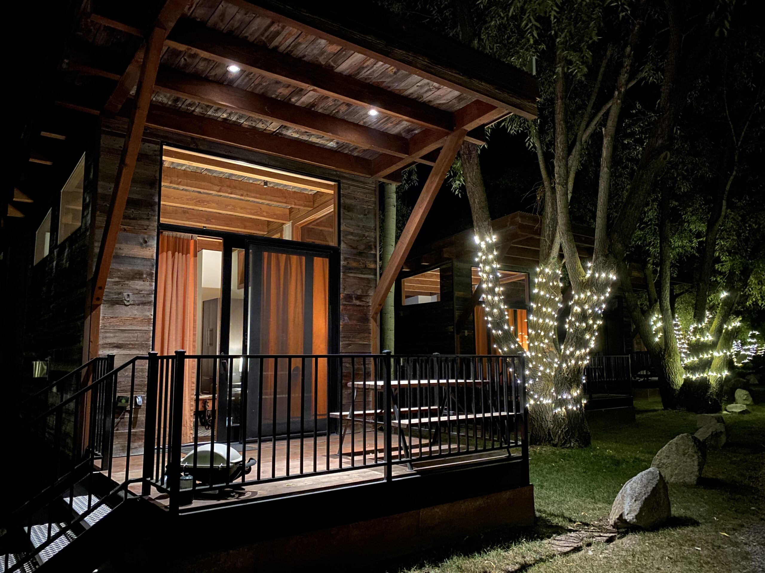 Sustainable Glamping – Luxury Cabins Near Jackson Hole